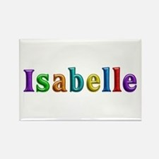 Isabelle Shiny Colors Rectangle Magnet