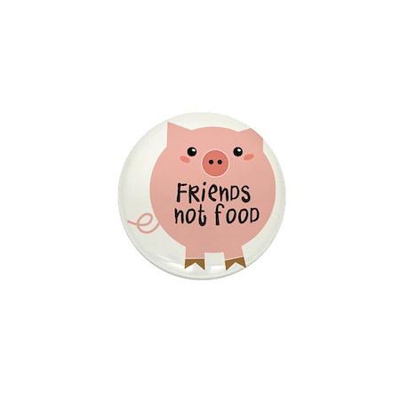 friends not food Mini Button