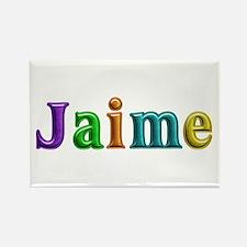 Jaime Shiny Colors Rectangle Magnet