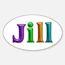 Jill Shiny Colors Oval Decal