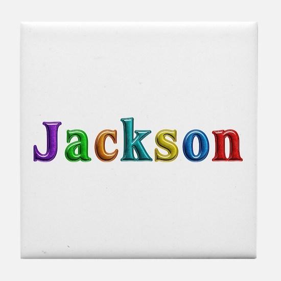 Jackson Shiny Colors Tile Coaster