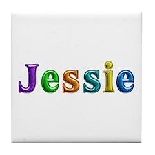 Jessie Shiny Colors Tile Coaster