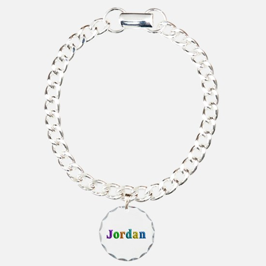 Jordan Shiny Colors Charm Bracelet