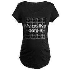 Binary Due Date December T-Shirt