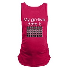 Binary Due Date April Maternity Tank Top