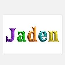 Jaden Shiny Colors Postcards 8 Pack