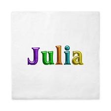 Julia Shiny Colors Queen Duvet