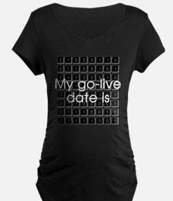 Binary Due Date February T-Shirt