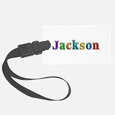 Jackson Shiny Colors Luggage Tag