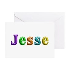 Jesse Shiny Colors Greeting Card