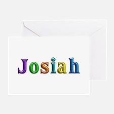 Josiah Shiny Colors Greeting Card