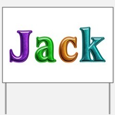 Jack Shiny Colors Yard Sign