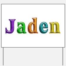 Jaden Shiny Colors Yard Sign