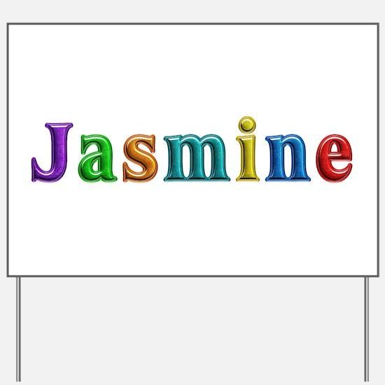 Jasmine Shiny Colors Yard Sign