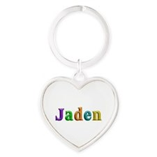 Jaden Shiny Colors Heart Keychain