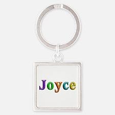 Joyce Shiny Colors Square Keychain