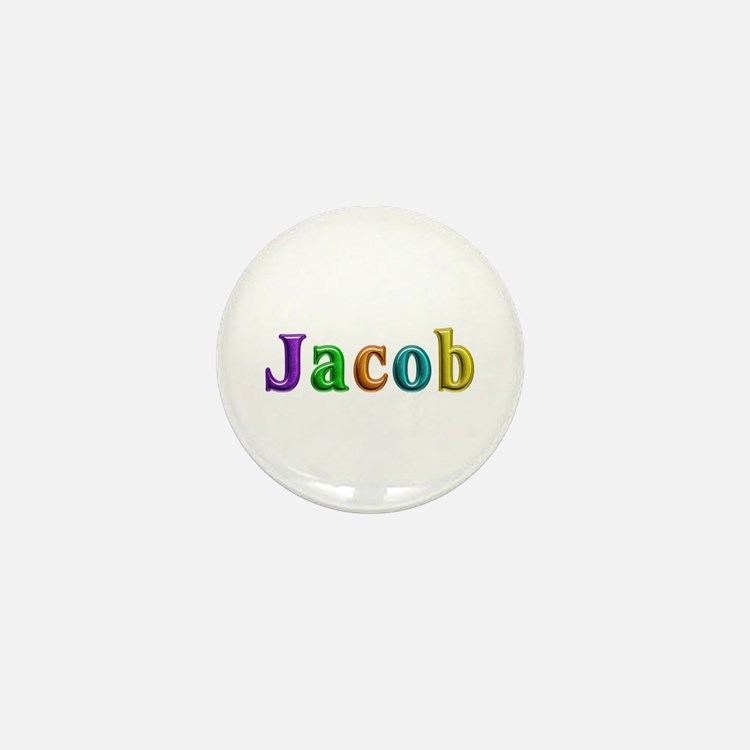 Jacob Shiny Colors Mini Button