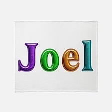 Joel Shiny Colors Throw Blanket