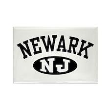 Newark New Jersey Rectangle Magnet