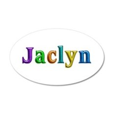 Jaclyn Shiny Colors Wall Decal