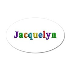Jacquelyn Shiny Colors Wall Decal