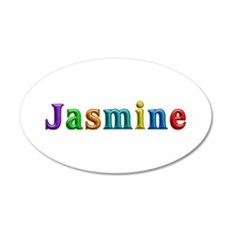 Jasmine Shiny Colors Wall Decal