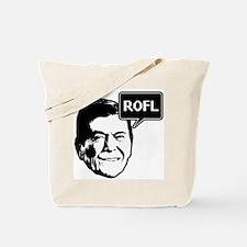 Ronald Reagan ROFL Tote Bag