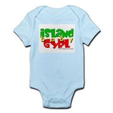 Island Baby Gyrl Infant Creeper
