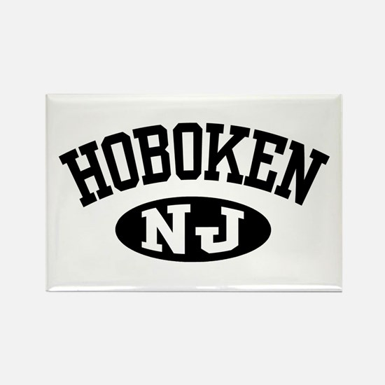 Hoboken New Jersey Rectangle Magnet