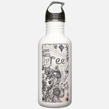 Freehand Doodles Water Bottle