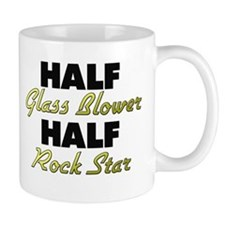 Half Glass Blower Half Rock Star Mugs