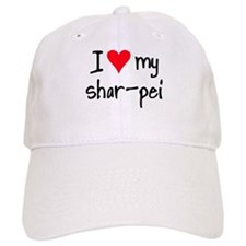 I LOVE MY Shar-Pei Baseball Cap