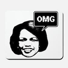 Condi Rice OMG Mousepad