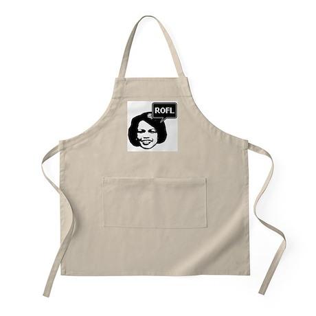 Condi Rice ROFL BBQ Apron