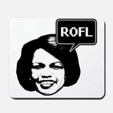 Condi Rice ROFL Mousepad