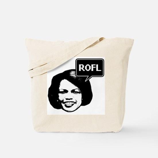 Condi Rice ROFL Tote Bag