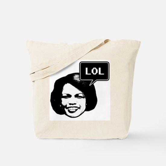 Condi RIce LOL Tote Bag