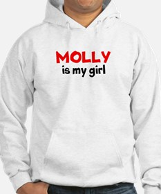 molly is my girl RED Hoodie