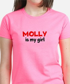 molly is my girl RED T-Shirt