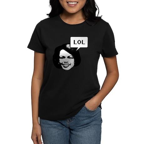 Condi RIce LOL Women's Dark T-Shirt