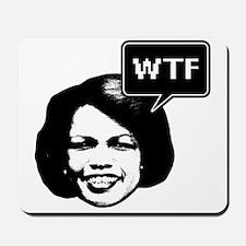 Condi Rice WTF Mousepad