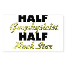 Half Geophysicist Half Rock Star Decal