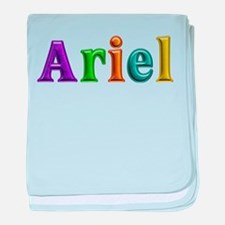 Ariel Shiny Colors baby blanket