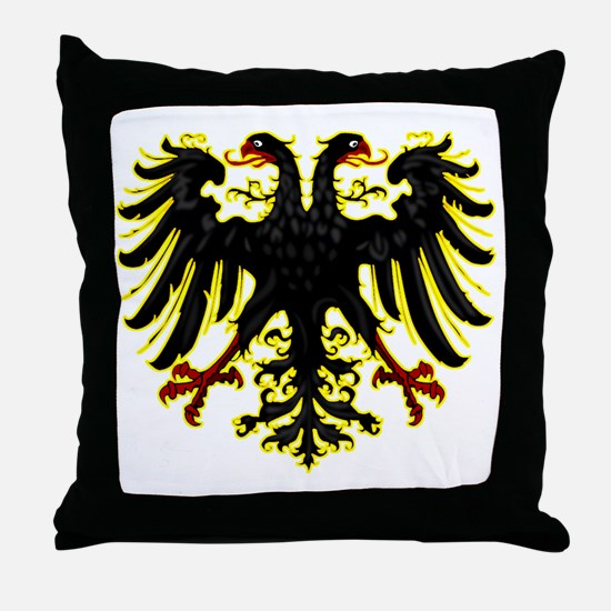 Banner of the Holy Roman Empire Throw Pillow