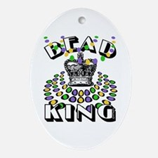 Bead King Oval Ornament