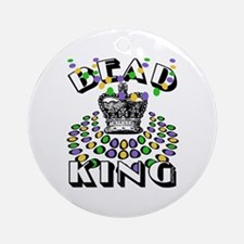 Bead King Ornament (Round)