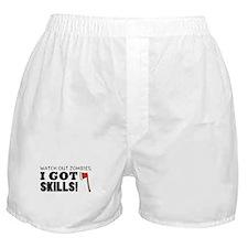 'Zombie Hunter' Boxer Shorts