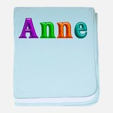 Anne Shiny Colors baby blanket