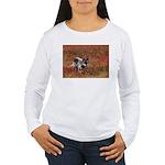 Alpha Male Wolf Women's Long Sleeve T-Shirt