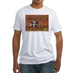 Alpha Male Wolf Fitted T-Shirt